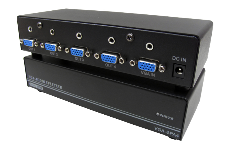 VGA-SPA4(1x4 VGA&Audio Splitter)